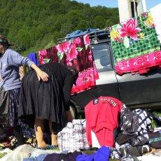 Femmes au tapis - Maramures - Roumanie © Arnaud Galy